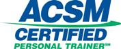 ACSM Certified Personal Trainer